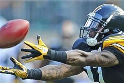 The Ravens signed former Steelers receiver Mike Wallace this offseason.