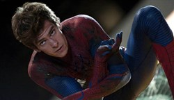 "Andrew Garfield in ""The Amazing Spider-Man 2."""