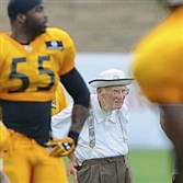 "Of fixing up Saint Vincent, the training camp home of the Steelers, chairman Dan Rooney said: ""Every year we've done more."""