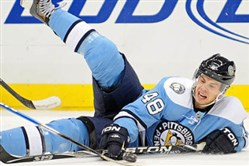 Tyler Kennedy could be approaching the end of his NHL career.