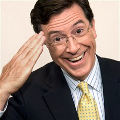 Stephen Colbert Comedian Stephen Colbert will visit contest winners at the University of Pittsburgh Jan. 18.