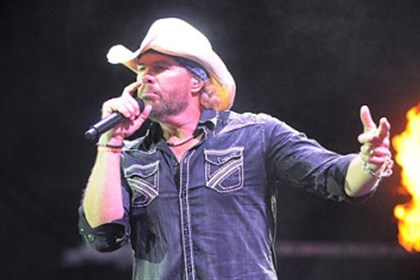 Toby Keith's I Love This Bar and Grill restaurant won't be anchoring the North Shore Place I and II retail and office complex next to Stage AE as planned.