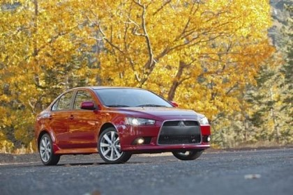 2013 Mitsubishi Lancer GT The 2013 Mitsubishi Lancer GT has only a few minor exterior changes from the Lancer Ralliart. The Ralliart is sportier and more expensive, offering a turbocharged engine, All-Wheel Control full-time all-wheel drive and Active Center Differential.