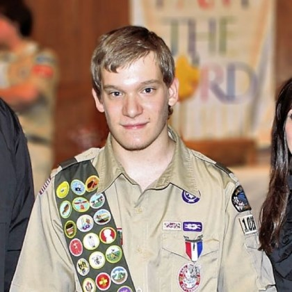 Aaron Fajerski Aaron Fajerski, of Claysville, Washington County, reached the rank of Eagle Scout in 2012. Aaron has cerebral palsy.