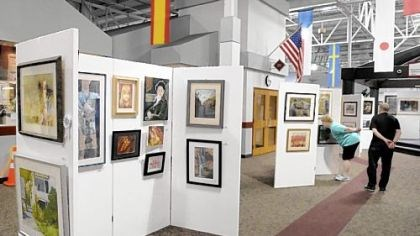 Art Cranberry's biggest nonprofit and the Butler County artists association (the biggest art associated nonprofit in the county) are embarking on a joint project following a successful exhibit that debuted at this year's community days in Cranberry. The exhibit is continuing at the Cranberry Municipal Center.