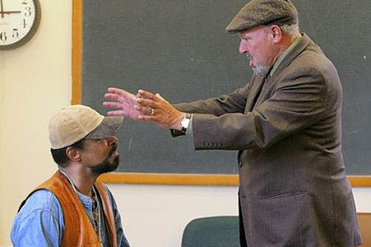 "August Wilson August Wilson (right) with Anthony Chisholm during rehearsal of Wilson's ""Radio Golf"" at Yale University in 2005. The actor will participate in recordings of Wilson's 10-play Pittsburgh Cycle."