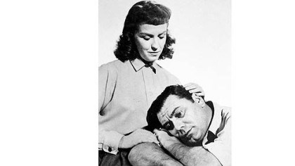 "Betsy Blair and Ernest Borgnine Betsy Blair and Ernest Borgnine in ""Marty."""