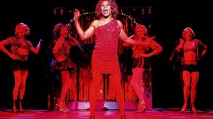 "Billy Porter Billy Porter during a performance of ""Kinky Boots,"" which has earned a leading 13 Tony Award nominations."