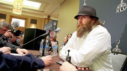 Brett Keisel Steelers defensive end Brett Keisel will draw attention as much -- if not more -- for his full growth of beard as he will his play this week.