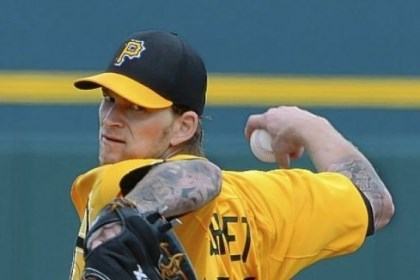 Burnett Pirates right hander A. J. Burnett had a new workout routine.