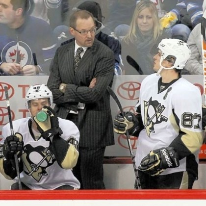 bylsma The Penguins and coach Dan Bylsma have shown flashes of excellence this season, but for the most part have been simply inconsistent.