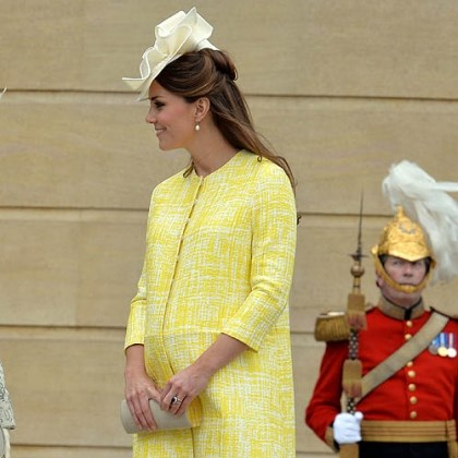 Catherine, with child Catherine, Duchess of Cambridge, with child. The Duchess went into labor today.