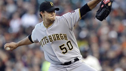 Charlie Morton The Pirates' Charlie Morton is 3-1 with a 3.52 ERA and the most ground-ball outs in the majors.