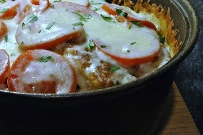 Chicken parm Dutch Oven Chicken Parmesan