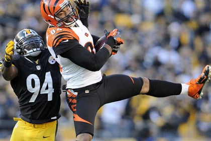 Cincinnati's Jermaine Gresham Cincinnati's Jermaine Gresham, seen last year against the Steelers, is one of two high-caliber tight ends for the Bengals.