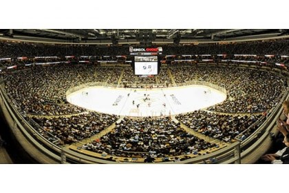 Consol Energy Center Consol Energy Center will be filled this weekend just as it is for a Penguins game.