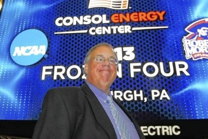 Craig Coleman It was an announcement worthy of big letters and bright lights on July 14, 2010, the day Robert Morris athletic director Craig Coleman announced that the Frozen Four was coming to Consol Energy Center.