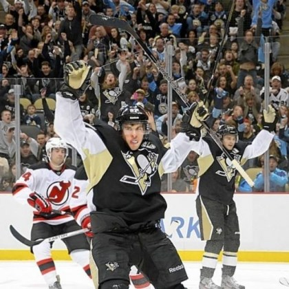 Crosby Sidney Crosby is playing as well as ever, and it's a big reason why the Penguins are in first place in the Atlantic Division.