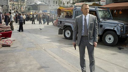 "Daniel Craig Daniel Craig, in a Tom Ford suit, as James Bond in ""Skyfall."""