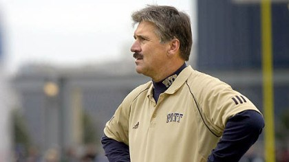 Dave Wannstedt Pitt coach Dave Wannstedt wants improvement from his defense.