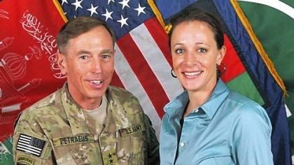 David Petraeus Gen. David Petraeus poses with Paula Broadwell in Afghanistan in July 2011.