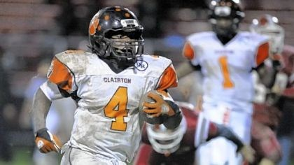 Deontae Howard Clairton running back Deontae Howard.
