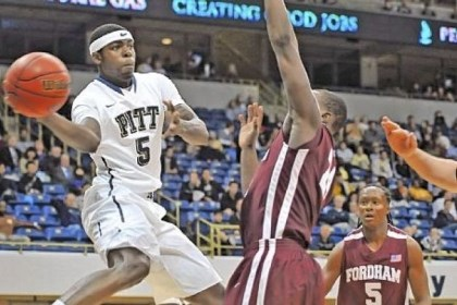 DurandJohnson Freshman Durand Johnson and the Pitt Panthers will take on Big East rival Connecticut for the last time in the forseeable future Saturday at Petersen Events Center.