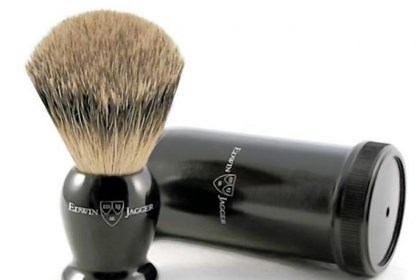 Edwin Jagger brush Luxury grooming tools include the Edwin Jagger brush from Joseph Barber & Co.