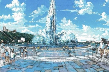 fountain An artist's rendering of the renovated Point State Park Fountain, which will reopen June 7