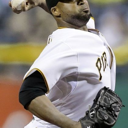 Francisco Liriano The Francisco Liriano gamble has so far paid off handsomely for the Pirates. He will at the very least be tied for the team lead in wins going into the All-Star break despite not making his first start until mid-May.