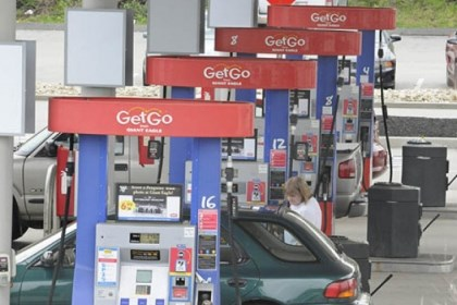 GetGo People pump gas at the GetGo near Route 30 near Irwin.