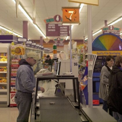 Giant Eagle Customers now need a loyalty card for self-checkout at Giant Eagle.
