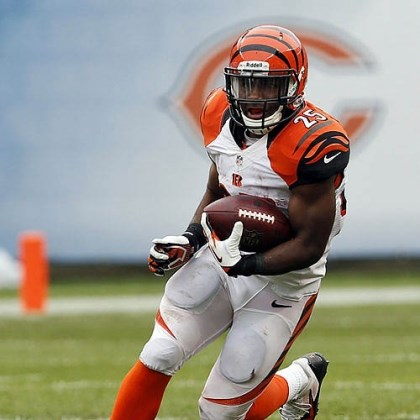 Giovani Bernard The Bengals hope rookie running back Giovani Bernard can be their version of Ray Rice.