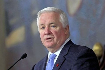 "Gov. Tom Corbett Gov. Tom Corbett, like his three predecessors, has ""strong ties to the natural gas industry."""