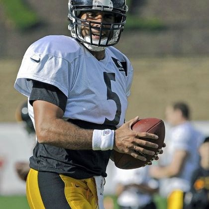 gradkowski Backup quarterback Bruce Gradkowski, a Dormont native, works through drills Wednesday during training camp.