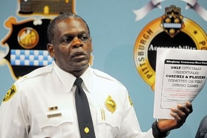 harper Pittsburgh Police Chief Nate Harper got a vote of confidence Friday from Mayor Luke Ravenstahl.