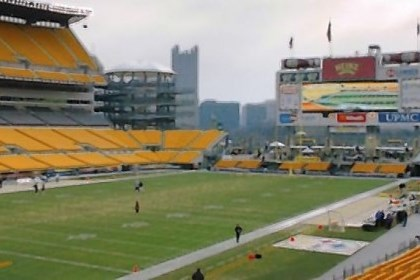 Heinz Field The city-Allegheny County Sports & Exhibition Authority board agreed Thursday to look at adding 3,000 seats around the main scoreboard in the south end zone at Heinz Field.