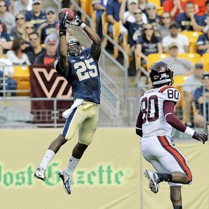 hendricks Pitt's Jason Hendricks intercepts a ball against Virginia Tech last season at Heinz Field. Hendricks was named to the All-ACC preseason team Wednesday.