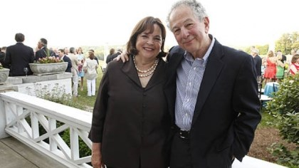 Honorary chair Ina Garten and husband Jeffrey Honorary chair Ina Garten and husband Jeffrey