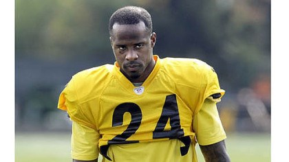 Ike Taylor at practice Ike Taylor at practice Wednesday.