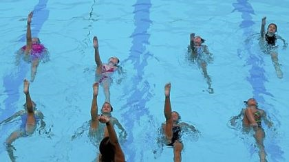 In the swim Forest Hills Sychronized Swim Team will perform its annual show at 8:30 p.m. Aug. 5 at Forest Hills Community Pool.