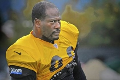 james harrison file James Harrison at a Steelers practice in October.