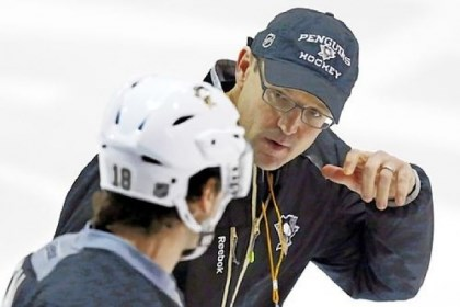 JamesNealBylsma Penguins coach Dan Bylsma planned the team's days off carefully given the condensed schedule due to the lockout.