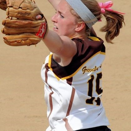 Jayne Oberdorf Jayne Oberdorf compiled a career pitching record of 48-8 with 500 strikeouts for Greensburg Salem.