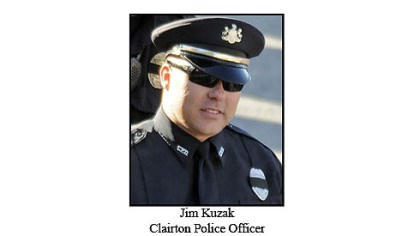 Jim Kuzak Jr. Clairton Police Officer Jim Kuzak Jr.