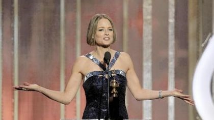 Jodie Foster Jodie Foster, recipient of the Cecil B. Demille Award, during the 70th Annual Golden Globe Awards.
