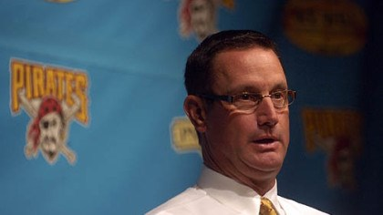 John Russell The Pirates today fired manager John Russell.