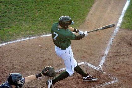 jones Pirates prospect JaCoby Jones takes a swing for the Jamestown Jammers.