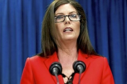 Kathleen Kane Kathleen Kane said her office had determined the lottery contract violates state law.