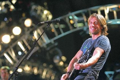 Keith Urban Keith Urban will light a fuse at First Niagara Pavilion Friday night.
